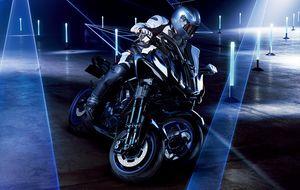 Yamaha hé lộ môtô 3 bánh độc đáo