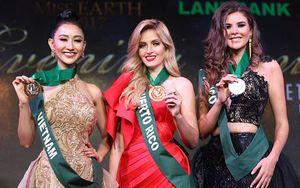 Hà Thu giành Huy chương đồng phần thi Trang phục dạ hội tại Miss Earth