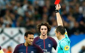 Neymar 'thiết đầu công' đối thủ, nhận thẻ đỏ khiến PSG suýt thua