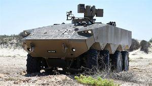 Israel thử xe bọc thép chặn đứng đòn đánh từ RPG-7