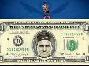 Federer chờ soán ngôi số 1 Nadal, vượt Djokovic kỷ lục 'hái tiền'