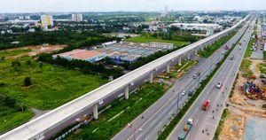 Cận cảnh đường ray tuyến metro đầu tiên ở Sài Gòn