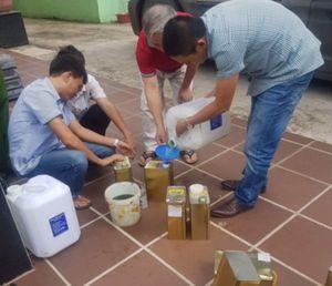 Vụ xăng giả ở Nghệ An: Kiểm 12 mẫu thì 11 mẫu không đạt chất lượng