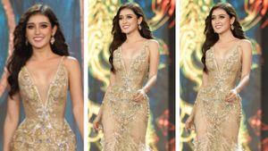 Huyền My lộng lẫy đêm sơ kết Hoa hậu Hòa bình Thế giới 2017