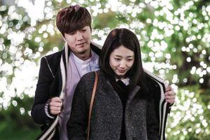 Những pha tình tứ của Lee Min Ho và bạn diễn nữ