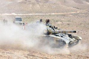 Nga yểm trợ, quân đội Syria đẩy mạnh truy quét IS