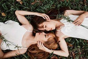 Cặp chị em xinh đẹp phiên bản Thúy Vân – Thúy Kiều