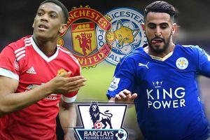 MU 0-0 Leicester: Quỷ đỏ áp đảo (H1)