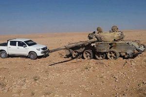 Quân đội Syria tiến cách thành phố Deir Ezzor chưa đầy 100 km