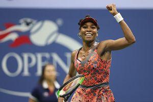Venus lần đầu vào bán kết giải Mỹ mở rộng sau 7 năm