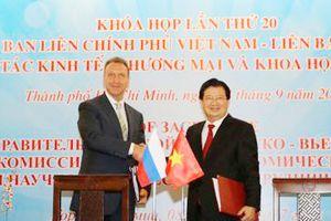 Thúc đẩy triển khai các dự án hợp tác Việt - Nga