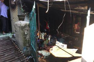 Nổ bình gas ở Huế, một người bị thương, nhiều đồ đạc bị thiêu rụi
