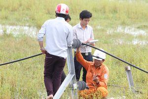 Quảng Bình: Nỗ lực hết mình khắc phục lưới điện sau bão