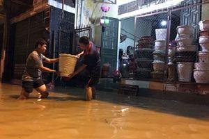 Yên Bái: Nước lũ sông Thao lên cao, mưa lớn gây sạt lở nhiều tuyến đường