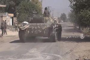 Quân đội Syria đánh đuổi IS ở Nam Deir Ezzor