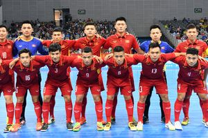 Futsal Việt Nam đặt mục tiêu lọt vào VCK Giải futsal Vô địch châu Á 2018