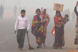 Ấn Độ: Phụ huynh giận dữ vì trường học mở cửa bất chấp khói độc