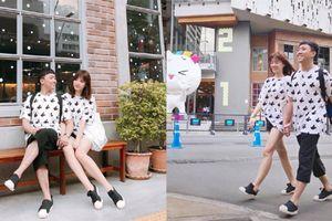 Trấn Thành - Hari Won diện đồ đôi các cặp đang yêu nhìn là mê!