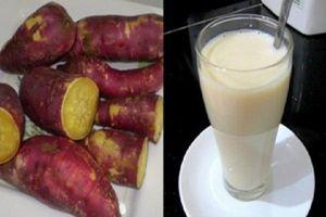 Ăn khoai lang và uống 1 cốc sữa ấm – 'Bí kíp' loại bỏ 14kg mỡ thừa/2 tuần, eo thon, bụng phẳng mà chẳng tốn sức tập gym