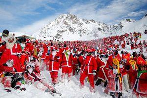 Ông già Noel hiện diện khắp nơi trên thế giới