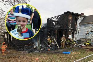 Cậu bé 6 tuổi cứu em gái trong hỏa hoạn, trở thành người hùng trong ngày sinh nhật của mình