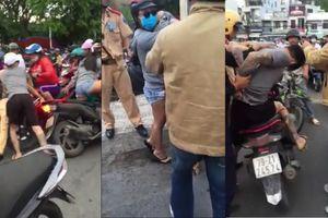 Tạm giam nam thanh niên tấn công CSGT để 'giải cứu' bạn gái ở Nha Trang
