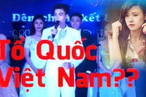 Thí sinh cuộc thi nhan sắc, trí tuệ đứng hình khi Midu hỏi tên bài Quốc ca Việt Nam