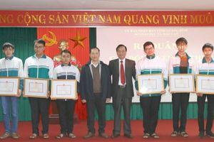 3 học sinh Quảng Bình được chọn vào Đội dự tuyển Olympic Toán Quốc tế 2018