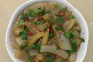 Da trâu muối chua - Đặc sản của người Thái Sơn La