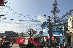 Cháy trung tâm viễn thông, mạng 3 huyện 'thất thủ'