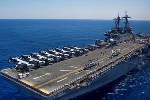 Tàu tấn công đa mục đích của Mỹ sẽ tập trận đổ bộ tại Hàn Quốc