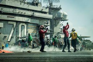Tàu sân bay Carl Vinson tập trận trên Biển Đông