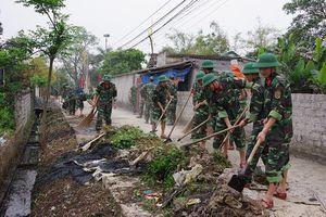 Giúp dân xây dựng nông thôn mới