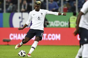 Chơi vật vờ ở Man United, Pogba về tuyển Pháp đá như 'siêu nhân'