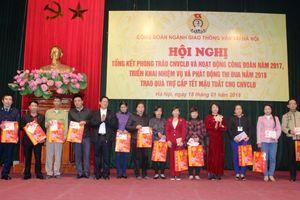 Công đoàn ngành Giao thông Vận tải Hà Nội đẩy mạnh hoạt động thi đua