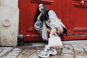 Sao Việt ngày càng ưa chuộng xu hướng giày sneakers thô kệch
