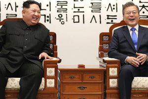 Toàn cảnh cuộc gặp lịch sử giữa Chủ tịch Triều Tiên Kim Jong Un và Tổng thống Hàn Quốc Moon Jae In