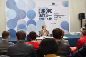 EU ra mắt 'Ngôi làng châu Âu' tại trung tâm Hà Nội