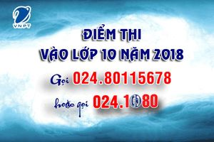Tổng đài 1080 tra cứu điểm thi vào lớp 10 tại Hà Nội