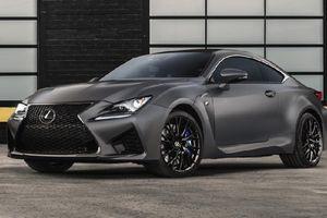 Lexus ra mắt 2 phiên bản giới hạn GS F và RC F