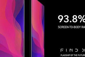Oppo Find X sẽ là smartphone có tỷ lệ màn hình lớn chưa từng thấy?