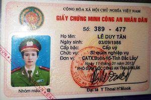 Thượng úy công an cầm cố thẻ ngành lừa đảo hàng trăm triệu