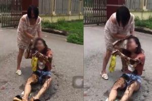 Xôn xao vụ bà bầu rủ bạn đánh ghen dã man cô gái trẻ ở Thái Nguyên