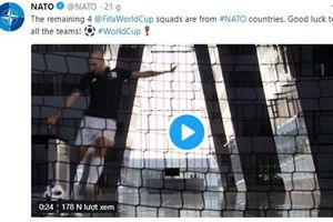 NATO khoe 4 thành viên vào bán kết World Cup, cộng đồng mạng ném đá kịch liệt