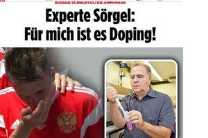 Báo Đức nghi ngờ cầu thủ Nga sử dụng doping ở World Cup