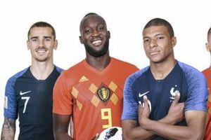 Pháp vs Bỉ: Gạt hết tình anh em