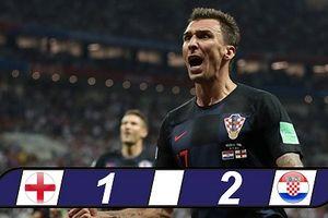 Lội ngược dòng thành công, Croatia vào chung kết