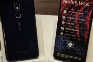 Nokia X6 bắt đầu phát hành toàn cầu với tên Nokia 6.1 Plus