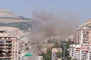 Syria: Nổ lớn ở khu dân cư gần Damascus