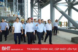 Thủ tướng Chính phủ Nguyễn Xuân Phúc kiểm tra tại Formosa Hà Tĩnh